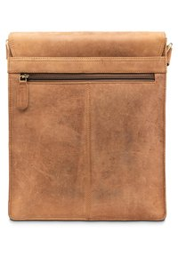 Leabags - LONDON - Across body bag - mottled light brown - 1