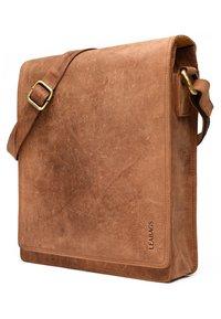 Leabags - LONDON - Across body bag - brown - 2