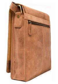 Leabags - LONDON - Across body bag - brown - 3