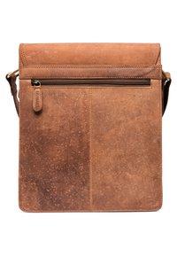 Leabags - LONDON - Across body bag - brown - 1