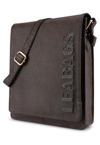 Leabags - LONDON - Across body bag - mottled berry - 2