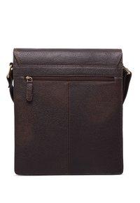 Leabags - LONDON - Across body bag - cooper brown - 2