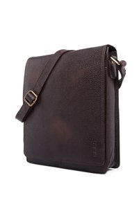 Leabags - LONDON - Across body bag - cooper brown - 3