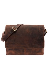 Leabags - OXFORD - Across body bag - rouge - 0