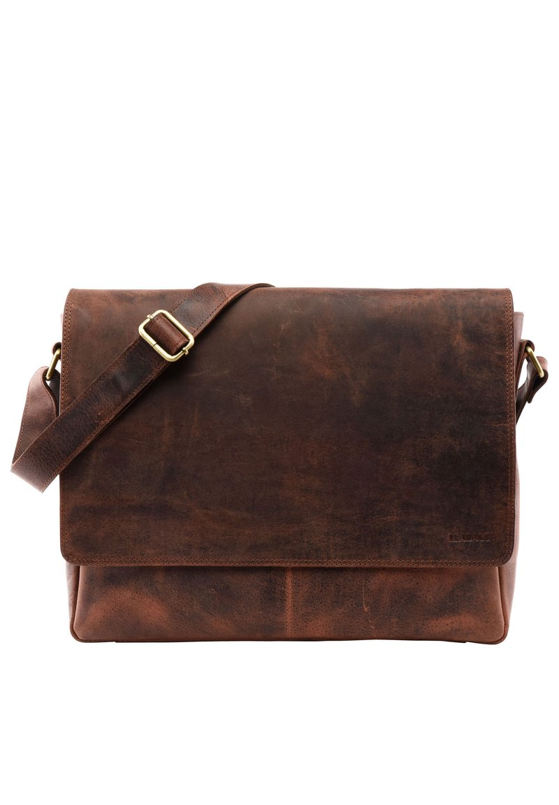 Leabags - OXFORD - Across body bag - rouge