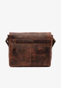 Leabags - OXFORD - Across body bag - rouge - 2