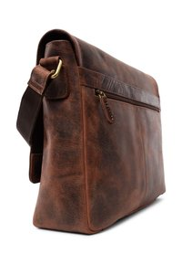 Leabags - OXFORD - Across body bag - rouge - 3
