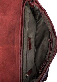 Leabags - OXFORD - Across body bag - terra pink - 3
