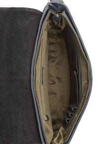 Leabags - OXFORD - Across body bag - steel blue - 3