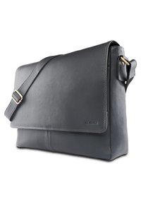Leabags - OXFORD - Across body bag - steel blue - 2