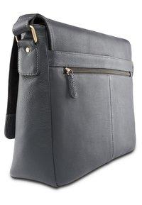 Leabags - OXFORD - Across body bag - steel blue - 1