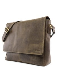 Leabags - OXFORD - Across body bag - olive - 3