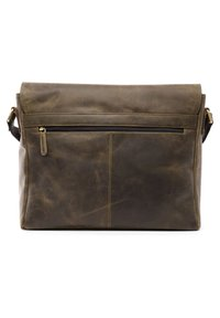 Leabags - OXFORD - Across body bag - olive - 2