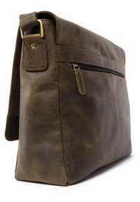 Leabags - OXFORD - Across body bag - olive - 5