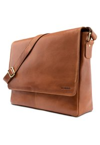 Leabags - OXFORD - Across body bag - cognac - 2