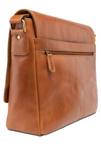 Leabags - OXFORD - Across body bag - cognac - 1