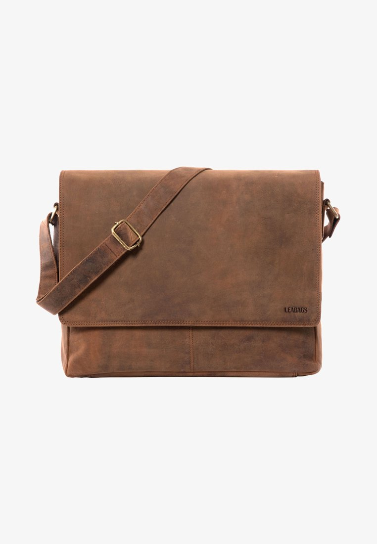 Leabags - OXFORD - Across body bag - cognac