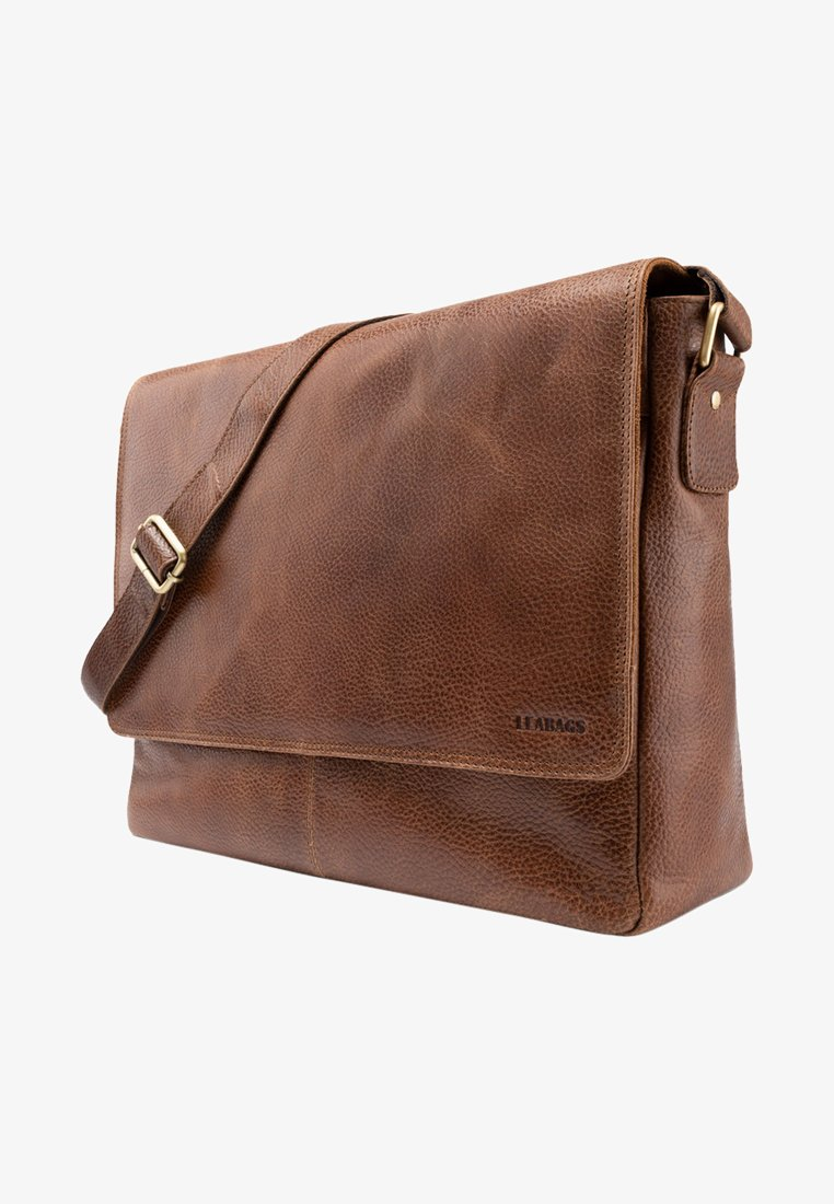 Leabags - OXFORD - Across body bag - brown