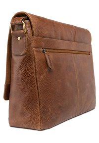 Leabags - OXFORD - Across body bag - brown - 1