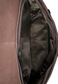 Leabags - OXFORD - Across body bag - mottled light brown - 3