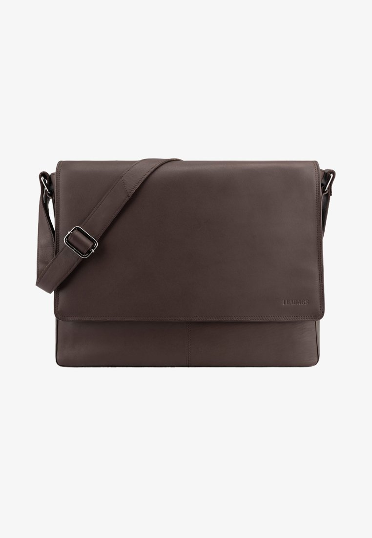 Leabags - OXFORD - Across body bag - brown smooth