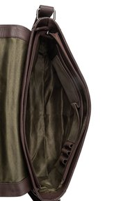 Leabags - OXFORD - Across body bag - brown smooth - 4