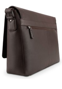 Leabags - OXFORD - Across body bag - brown smooth - 3