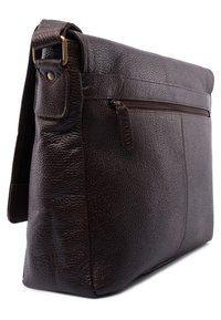 Leabags - OXFORD - Across body bag - cooper brown - 1