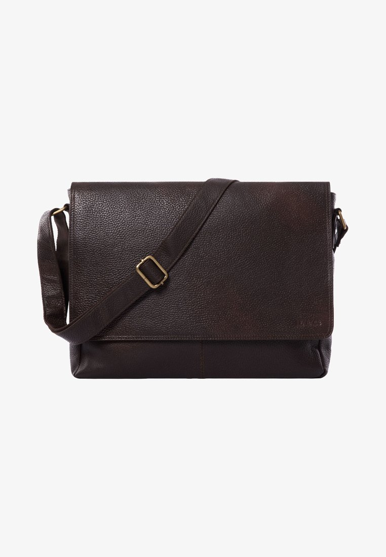 Leabags - OXFORD - Across body bag - cooper brown