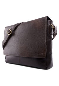 Leabags - OXFORD - Across body bag - cooper brown - 2