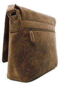 Leabags - OXFORD - Across body bag - light brown - 1
