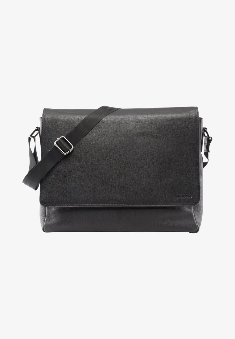 Leabags - OXFORD - Across body bag - onyx black