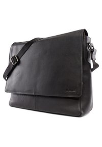 Leabags - OXFORD - Across body bag - onyx black - 2