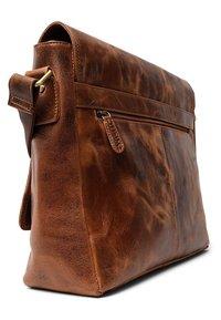 Leabags - OXFORD - Across body bag - orange - 2