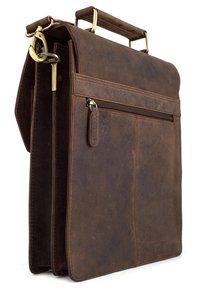 Leabags - EDINBURGH - Across body bag - brown - 2