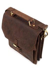Leabags - EDINBURGH - Across body bag - brown - 6