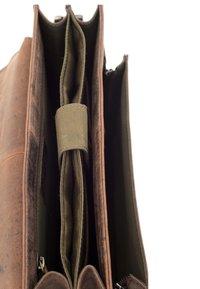 Leabags - EDINBURGH - Across body bag - brown - 5