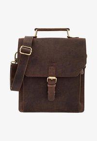 Leabags - EDINBURGH - Across body bag - brown - 0