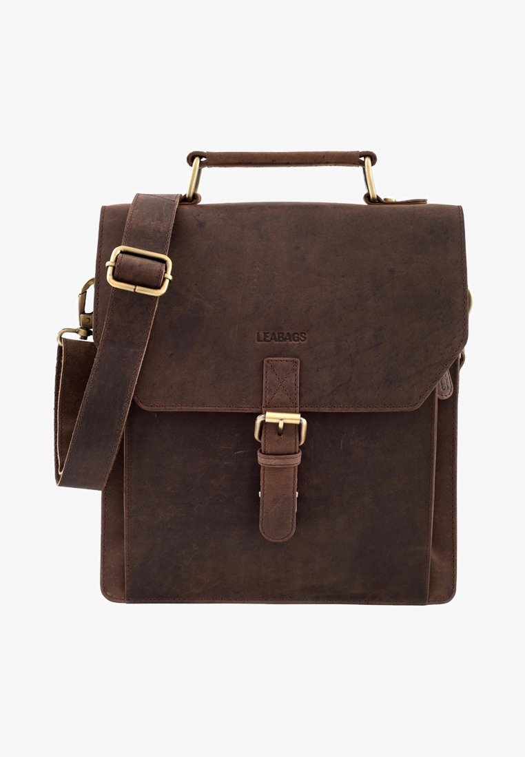 Leabags - EDINBURGH - Across body bag - brown