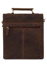 Leabags - EDINBURGH - Across body bag - brown - 4
