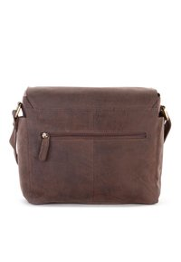 Leabags - KAMERATASCHE CINCINNATI - Across body bag - brown - 1