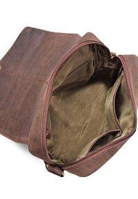 Leabags - HONG KONG - Across body bag - brown - 4