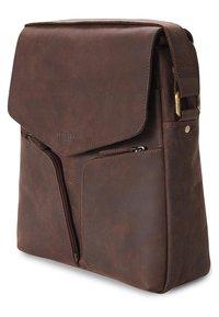 Leabags - HONG KONG - Across body bag - brown - 2