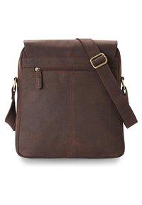 Leabags - HONG KONG - Across body bag - brown - 1