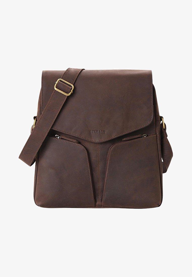Leabags - HONG KONG - Across body bag - brown