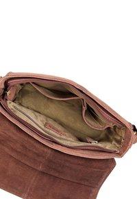 Leabags - Across body bag - brown - 3