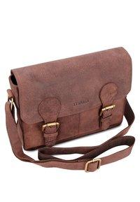 Leabags - Across body bag - brown - 2