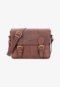 Leabags - Across body bag - brown - 0