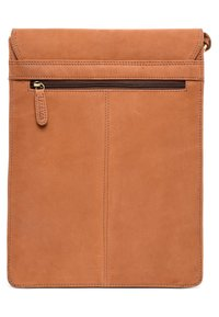 Leabags - LEICESTER - Across body bag - brown - 1