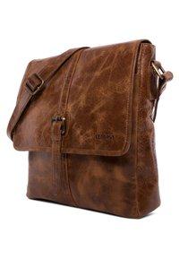 Leabags - EDMONTON - Across body bag - brown - 2